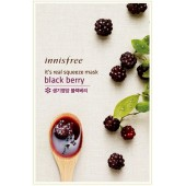Innisfree It's Real Squeeze Mask-Blackberry