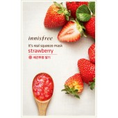 Innisfree It's Real Squeeze Mask-Strawberry