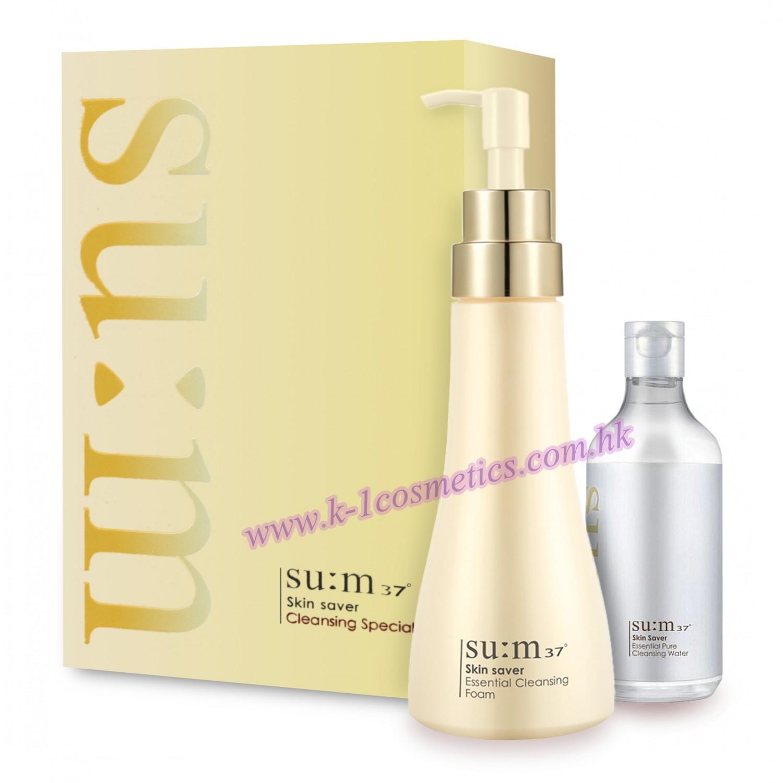 SU:M 37 煥膚精粹溫和潔面液套裝