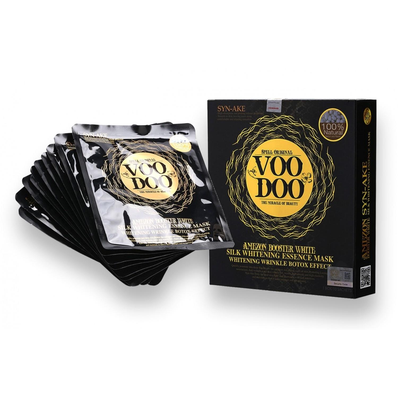 Voodoo  蛇毒蠶絲面膜 10片裝