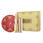 Whoo (后) 拱辰享:美 潤唇膏 SPF10 (粉紅色) 特別套裝
