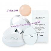Christian Dior 雪凝亮白修護氣墊粉底 15gX2  SPF50-PA+++ #005