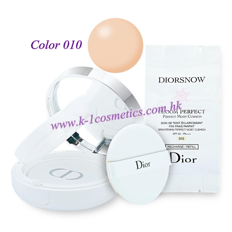 Christian Dior 雪凝亮白修護氣墊粉底 15gX2 SPF50-PA+++ #010