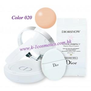 Christian Dior 雪凝亮白修護氣墊粉底 15gX2 SPF50-PA+++ #020