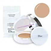 Christian Dior 夢幻美肌修顏氣墊粉  SPF 50-PA+++ 15g X 2 (010)