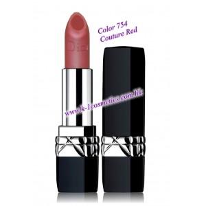 Christian Dior 傲姿炫金霧光唇膏 3.5g #754 Couture Red