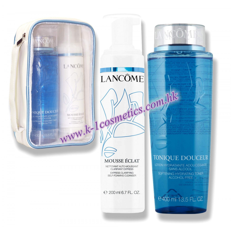 Lancôme  化妝水潔面泡沫套裝